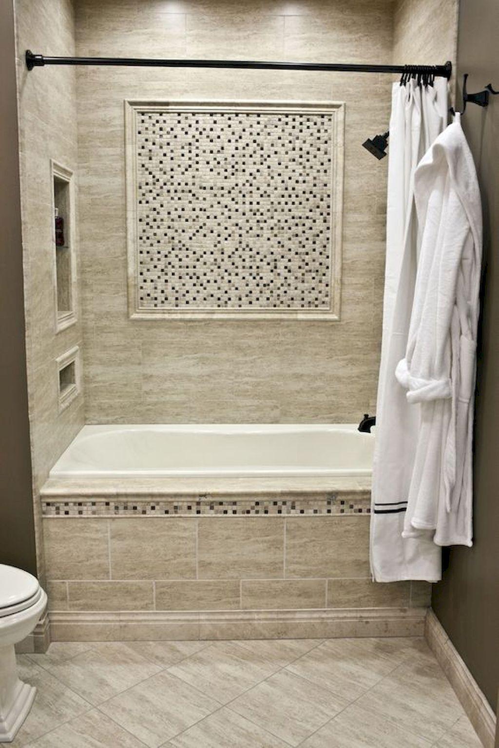 50 Beautiful Bathroom Shower Tile Ideas 1 Bathroomshowermakeovers Small Bathroom Tiles Bathroom Tub Shower Bathroom Remodel Shower