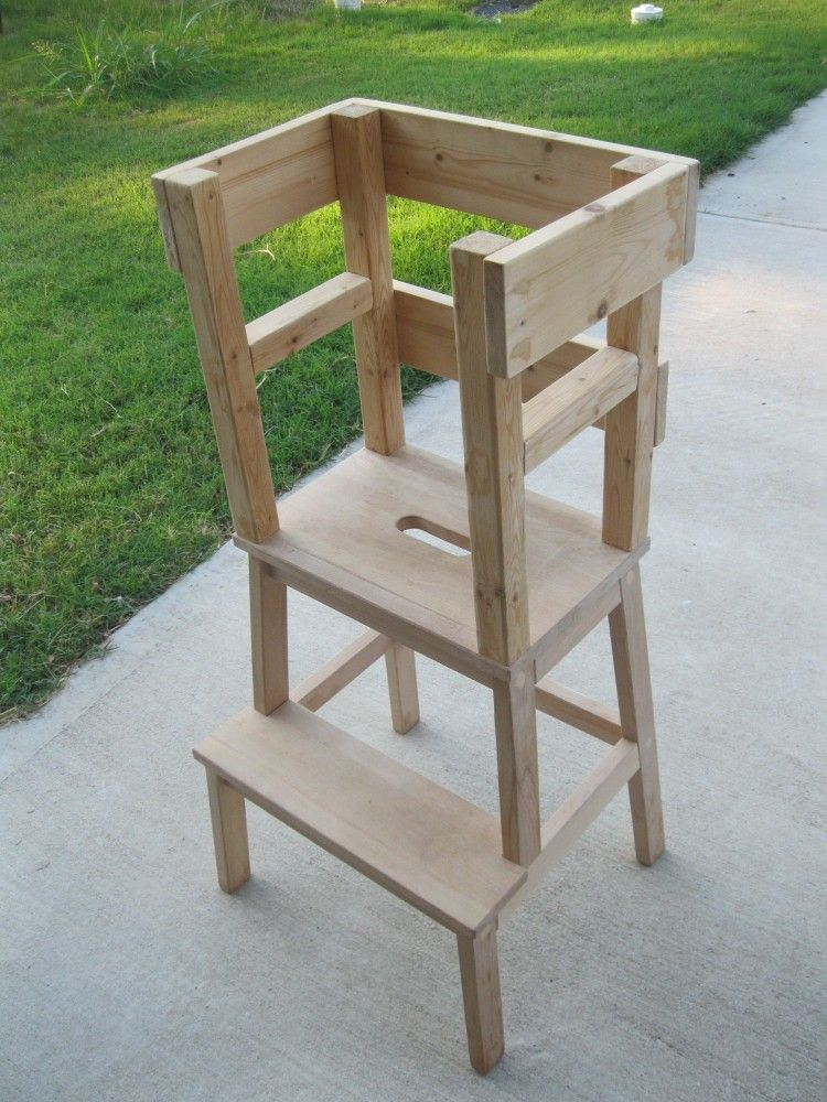 Diy Learning Tower With Ikea Bekvam Step Stool Learning Tower
