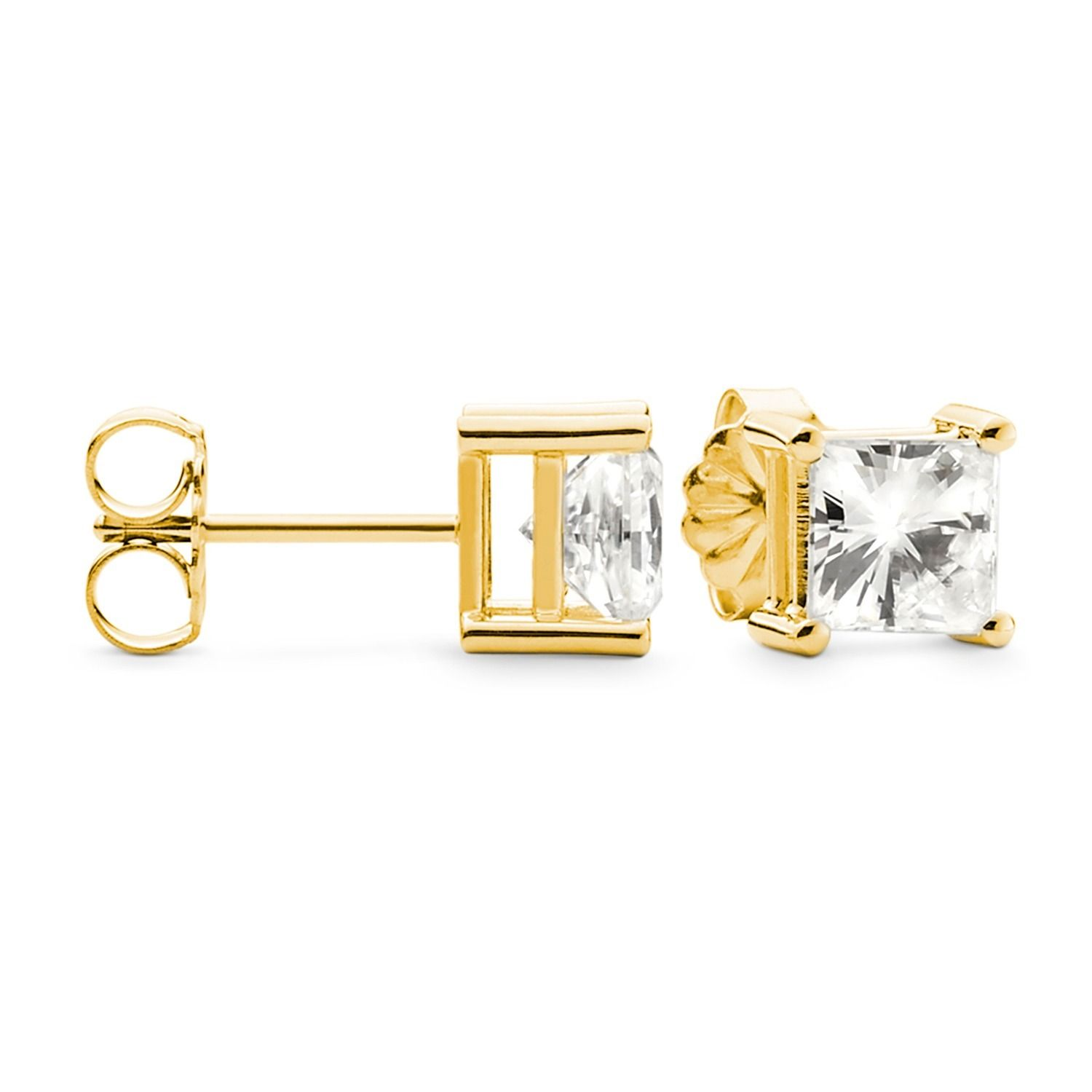 free stud by moissanite pin charles uk arkwright stunning delivery lily colvard earrings one forever