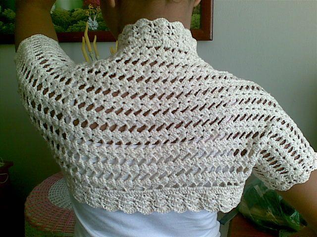Boleros tejidos a crochet bajar patrones gratis - Imagui | remeras ...