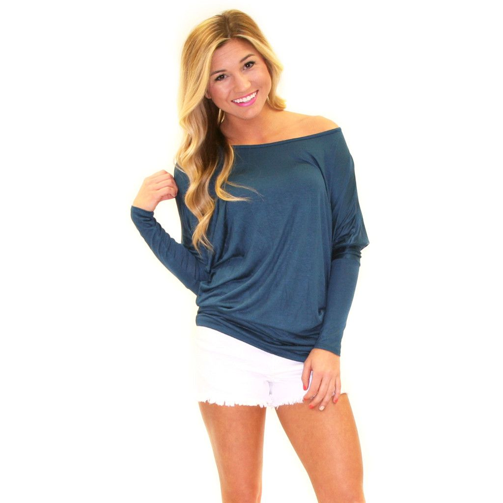 Everyday Chic Tunic Teal