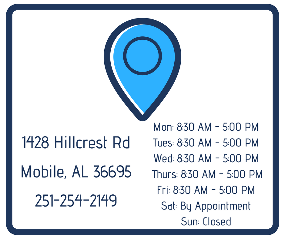 Our Mobile Office Is Conveniently Located On Hillcrest Rd See Our