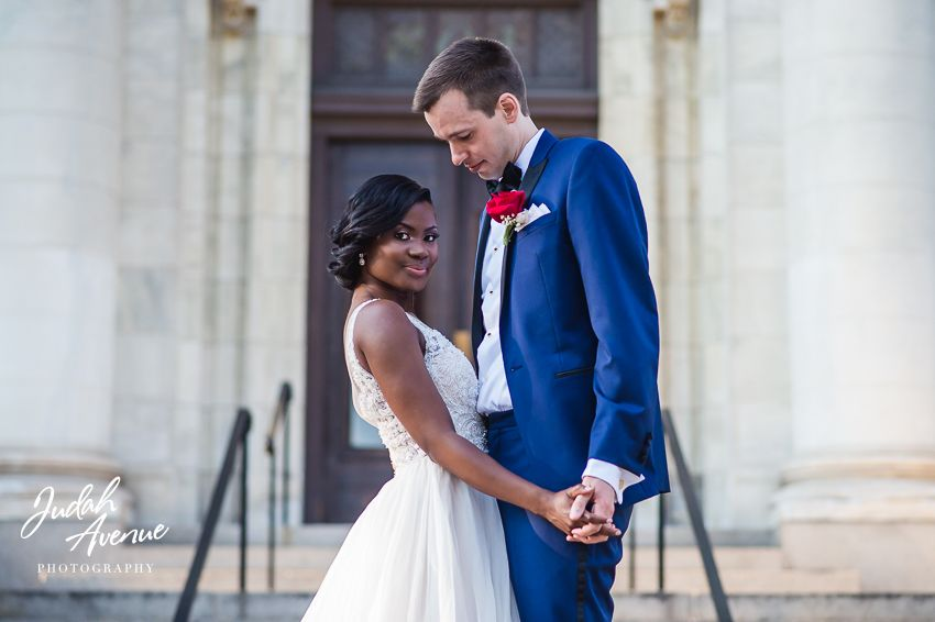 Susan and Tom Beautiful interracial couple after their