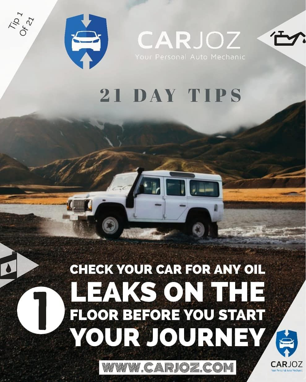 Be chill and relaxed about your car in these 21 days of