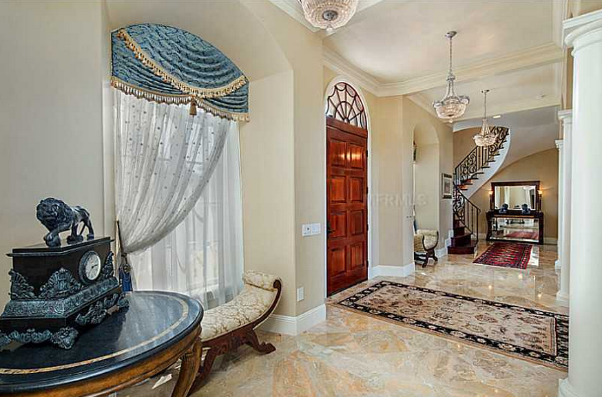 Maison Calcaire A 2 5 Million Brick Home In Celebration Fl With Images Home Building Design Custom Home Designs Luxury Homes
