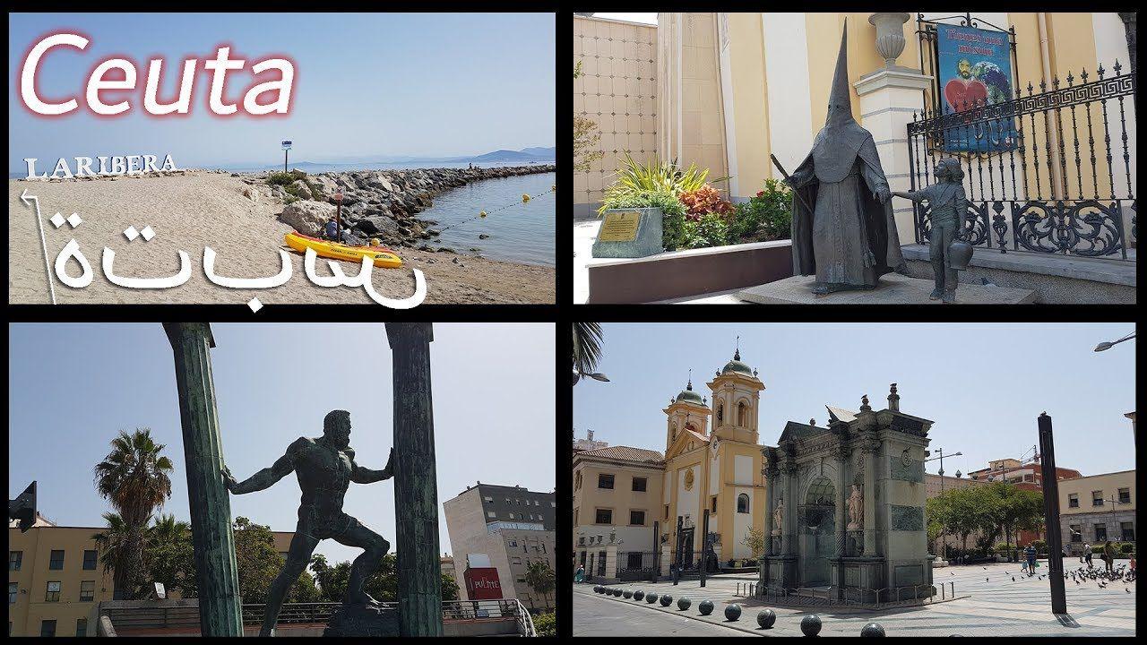 Ceuta 4k la Spagna in Marocco سبتة Marocco, Spagna