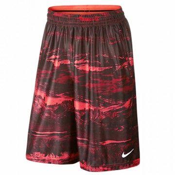 sports shoes c9640 ccce8 Short de basket Homme Nike LEBRON Ultimate Elite rouge et noir