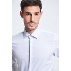 Photo of Santos Shirt, weiß gemustertes StrellsonStrellson