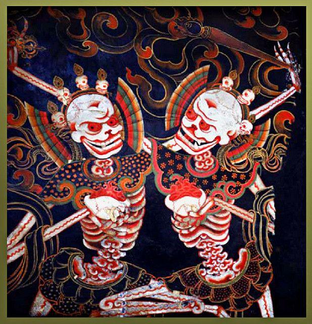 Chitipati | Buddhist art, Buddhist symbols, Tibetan art