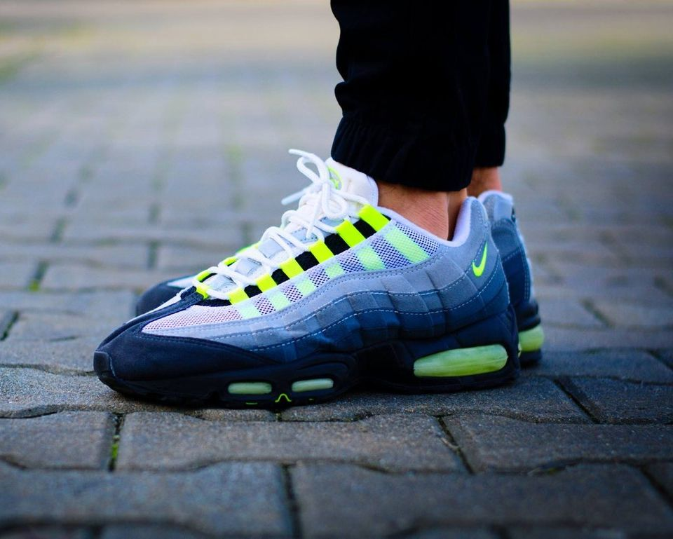 Nike Air Max 95 Neon Probably The Most Comfortable Running Shoes I Ve Ever Had Nike Air Max 95 Nike Air Max Nike Shoes