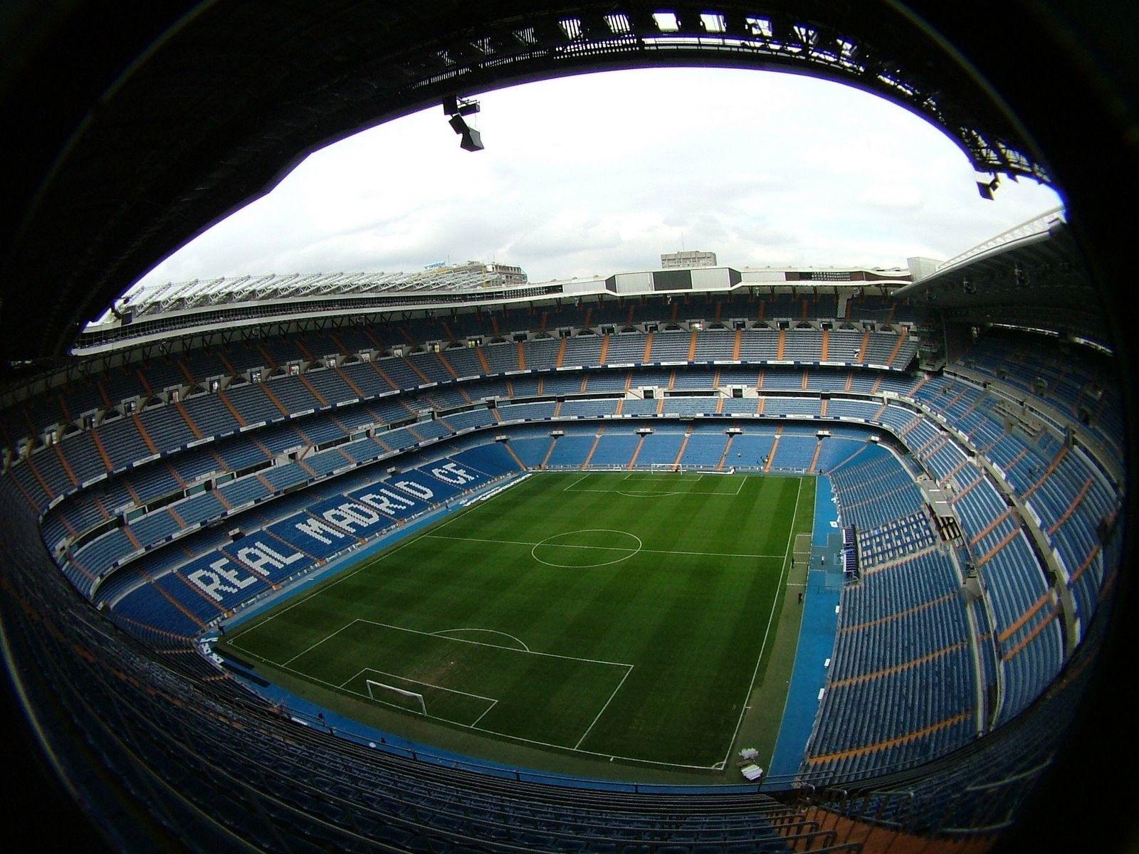 Estadio Santiago Bernabeu: Madrid, Spain - Soccer / Football