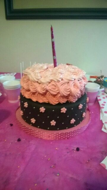 Torta para cumpleaños  casera