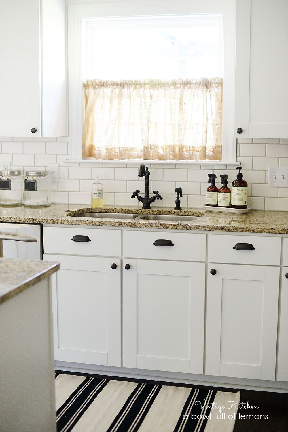 Want to add some vintage style to your kitchen? Add a subway tiled ...