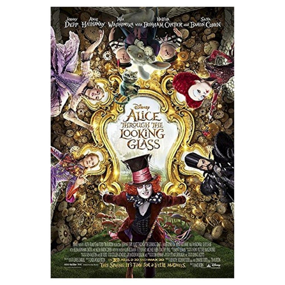 Alice Through The Looking Glass Dvd Through The Looking