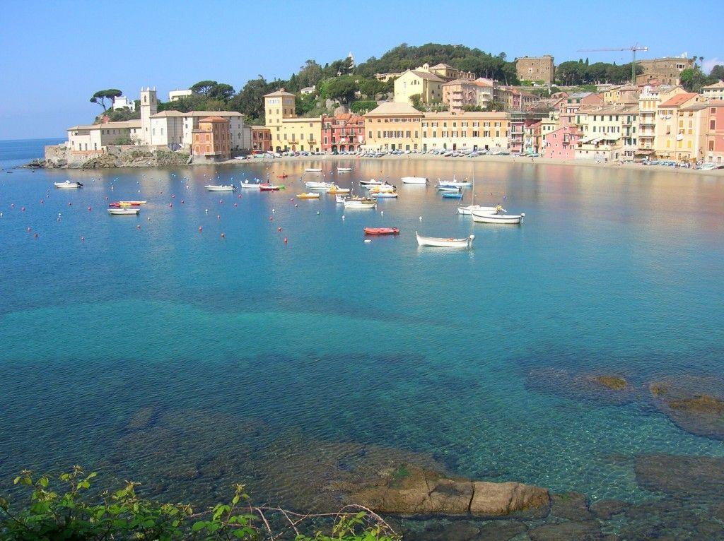 Baia Del Silenzio Sestri Levante Spiagge Paesaggi Italia