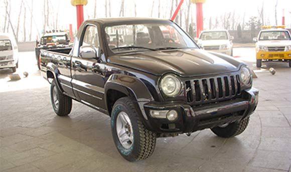 Jeep Liberty Pickup Conversion