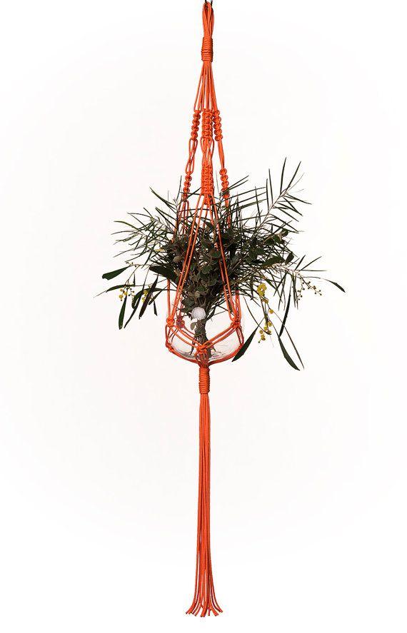 Macrame Plant Hanger / Hanging Basket / Pot by CleopatraJMacrame, $105.00