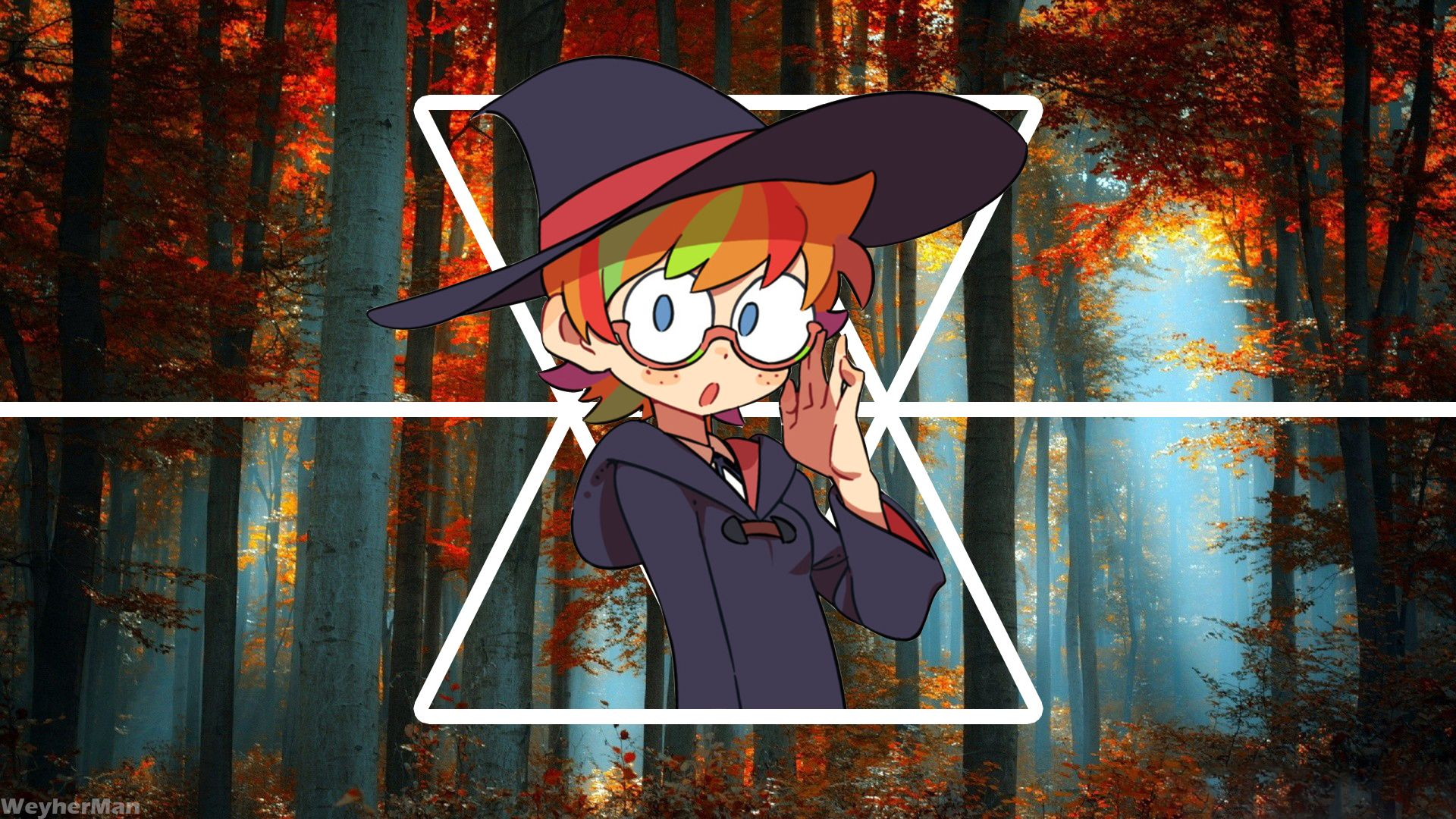 Little Witch Lotte 1920 X 1080 Hd Wallpaper From Gallsource Com