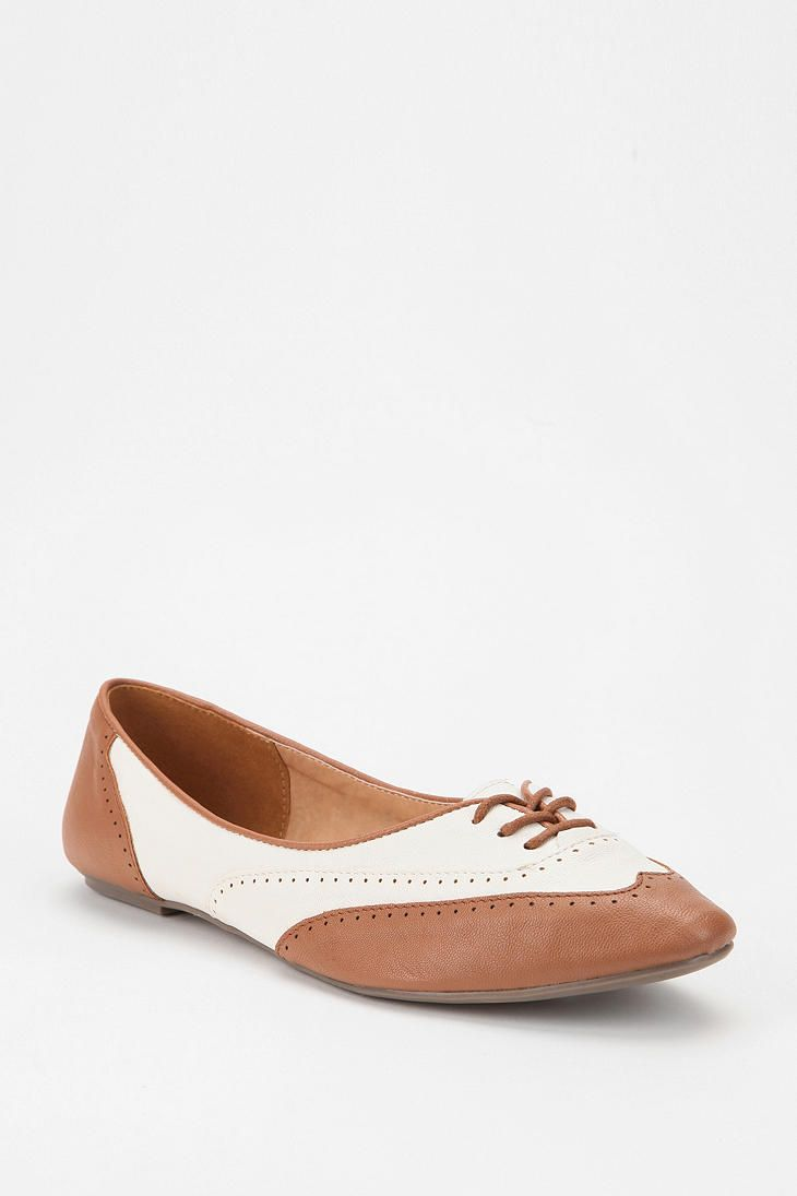 Cooperative Two-Tone Brogue Skimmer | Shoes | Moda, Chatas ...