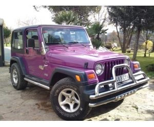 Purple Jeep Wrangler 4 0 Jeep Wrangler Jeep De Segunda Mano