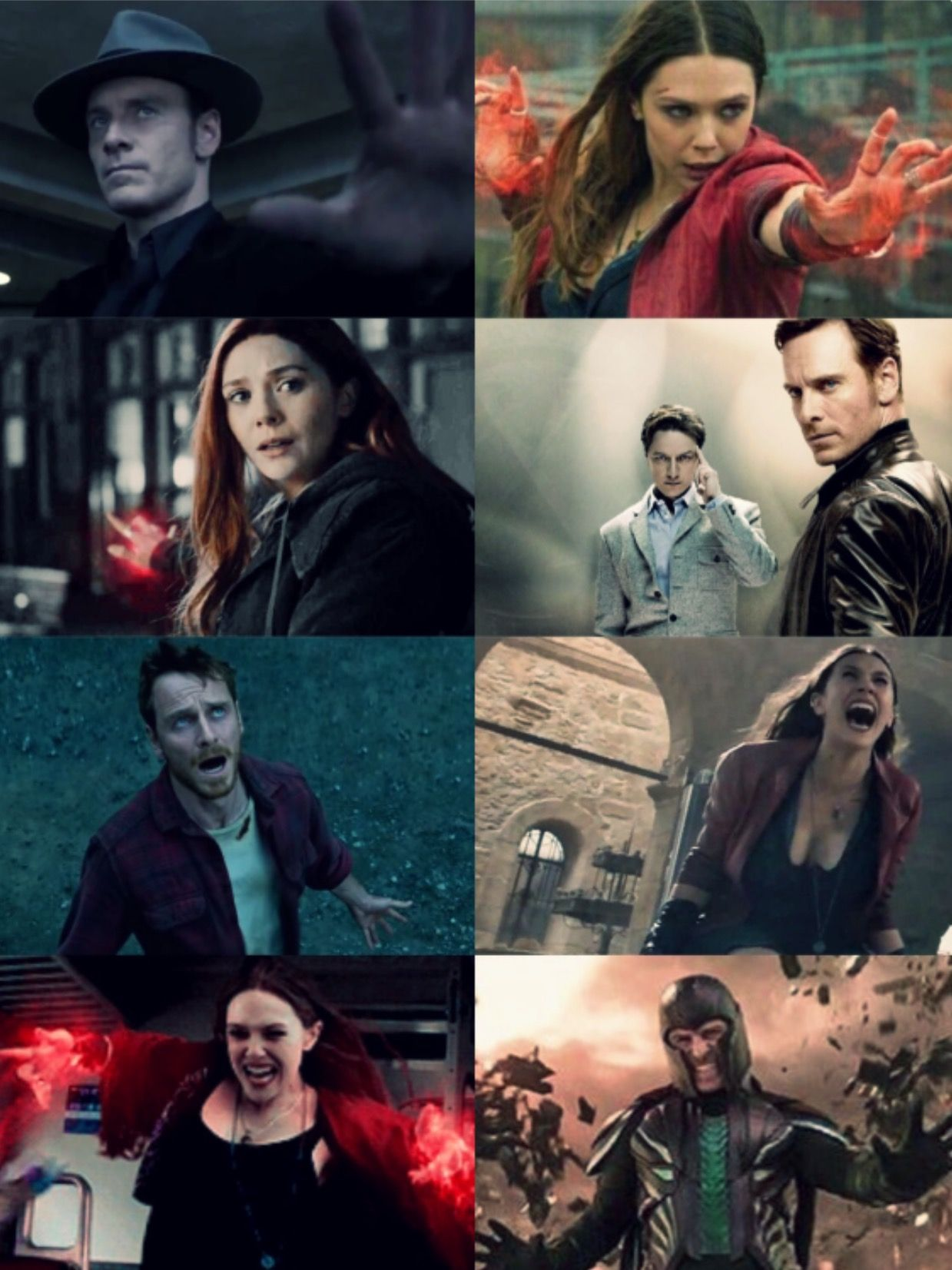 Like Father Like Daughter Magneto Scarlet Witch Father Daughter Parallels Marvel Superheroes Marvel Movies Scarlet Witch