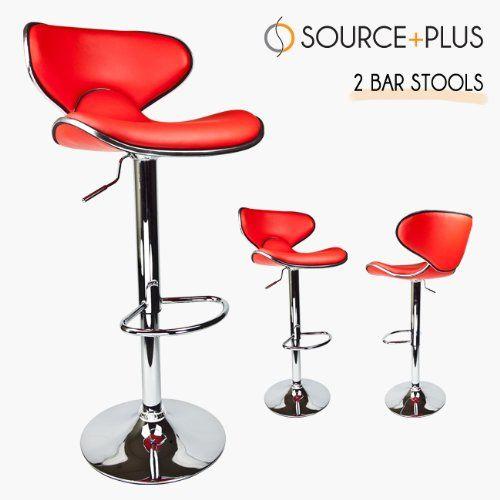 2 Swivel Red Elegant PU Leather Modern Adjustable Hydraulic Bar Stool Barstool Talentstar,http://www.amazon.com/dp/B00456EE9I/ref=cm_sw_r_pi_dp_sGcztb03X13XSJAE