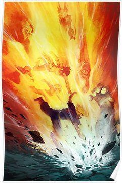 United States Of Smash Poster My Hero Academia Hero