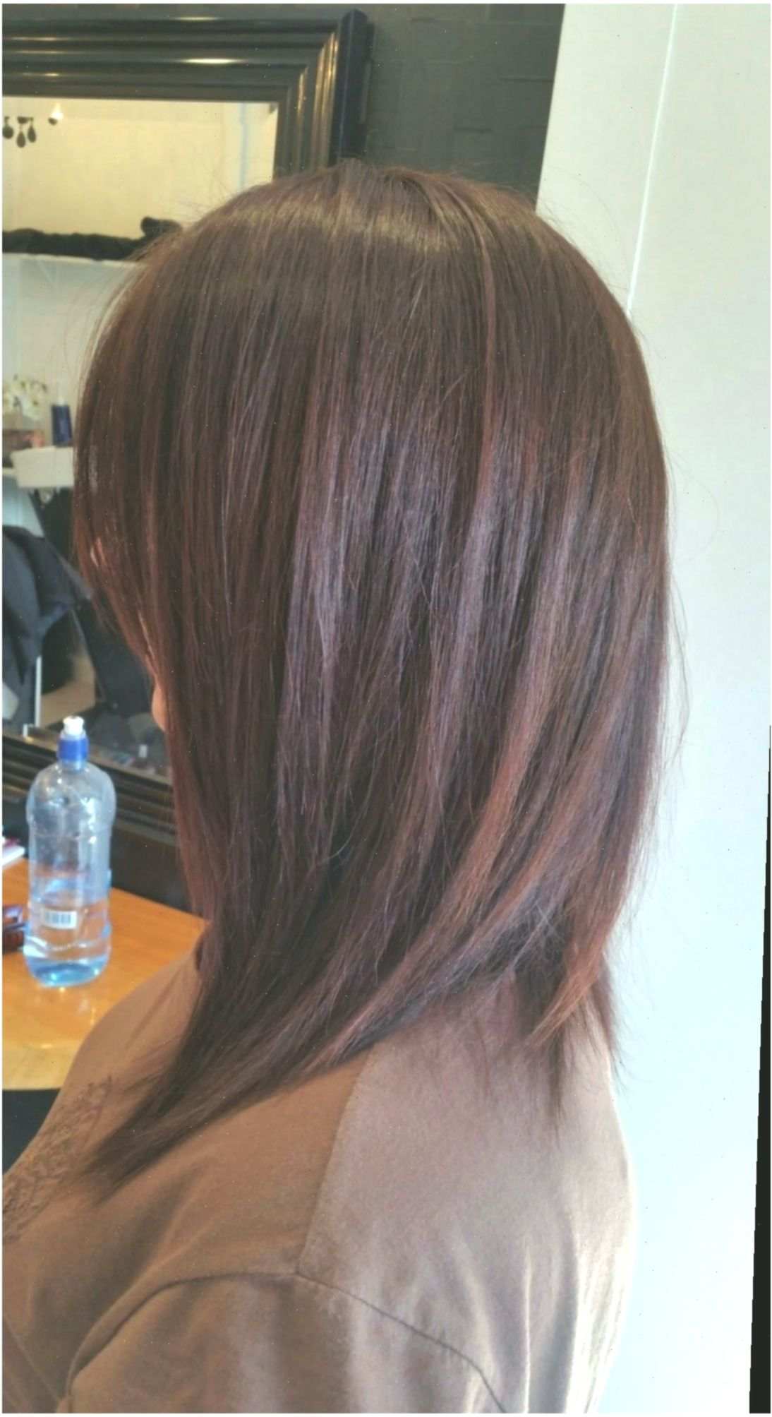 ✓ Hairstyles For Medium Length Hair Korean Long Bobs #reddress