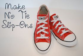 tutorial for no tie converse Comment nouer des chaussures, Comment lacer  How to tie shoes, How to lace