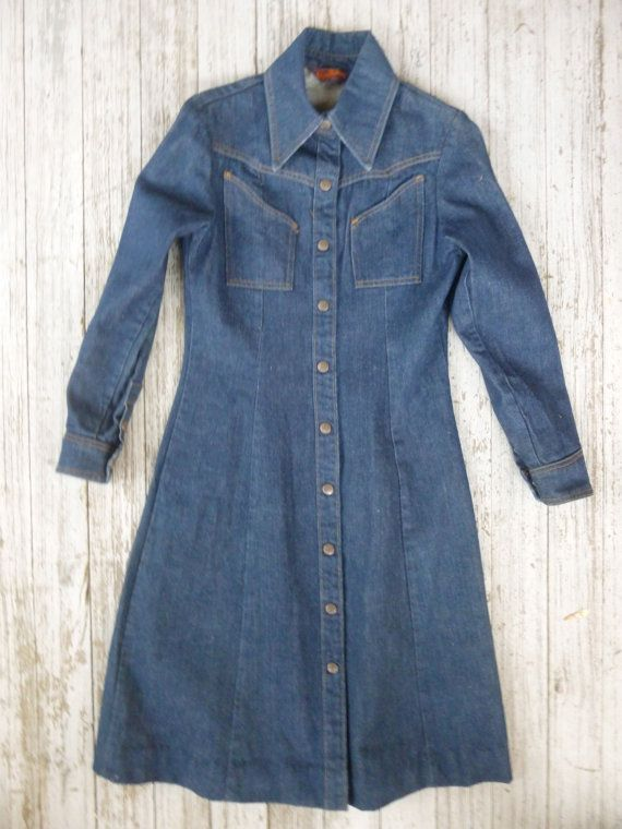 Landlubber denim dress