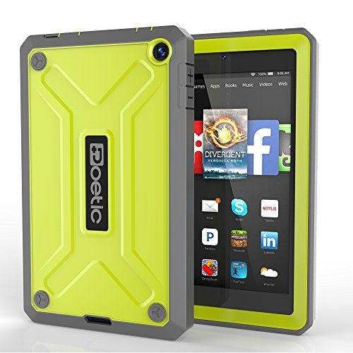 Fire HD 6 Case - Poetic Fire HD 6 Case [Revolution Series] - [Heavy Duty] [Dual Layer] Complete Protection Hybrid Case with Built-In Screen Protector for Amazon Kindle Fire HD 6 Citron (3 Year Manufacturer Warranty From Poetic) Poetic http://www.amazon.com/dp/B00NQB7U8U/ref=cm_sw_r_pi_dp_VFPMub0V1VTBM