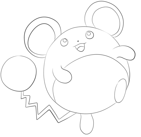 Click To See Printable Version Of Marill Coloring Page Free Printable Coloring Pages Coloring Pages Pokemon Coloring Pages