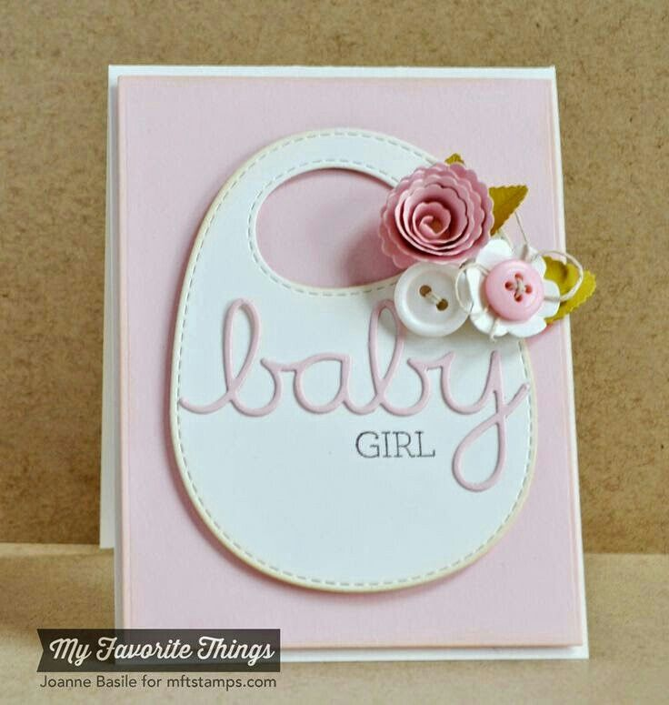 Awesome Baby Girl Card Making Ideas Part - 5: Craft · Karte · Baby Girl CardsBaby ...
