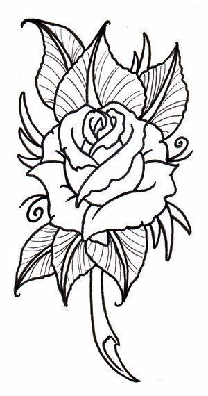 coolTop Tattoo Trends - Rose Flower Drawing#cooltop #drawing #flower #rose #tattoo #trends