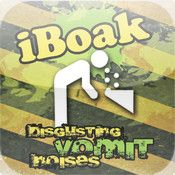 $0.99--iBoak - So gross you can hear the chunks !!!!--iBoak is a horrible little application containing VERY REALISTIC SOUNDS that are bound to get your insides churning.    Some sounds are soo gross that you can actually hear the chunks.
