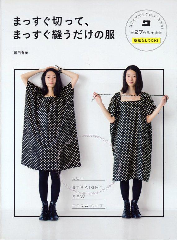 Straight Sewing - Japanese Craft Book | Nähsachen | Pinterest ...