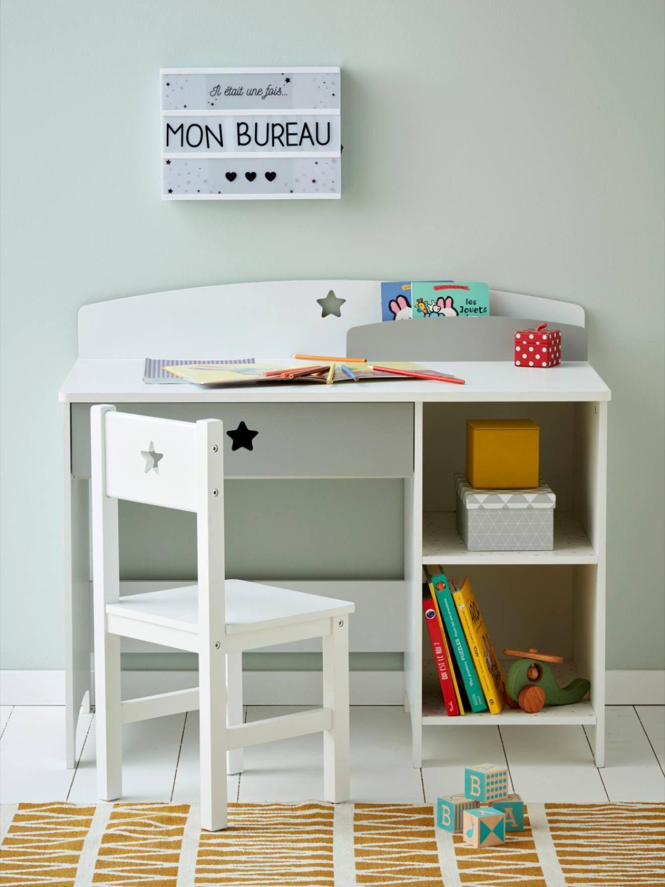 Bureau Special Maternelle Ligne Sirius Blanc Gris Vertbaudet Bureau Rangement Bureau Junior