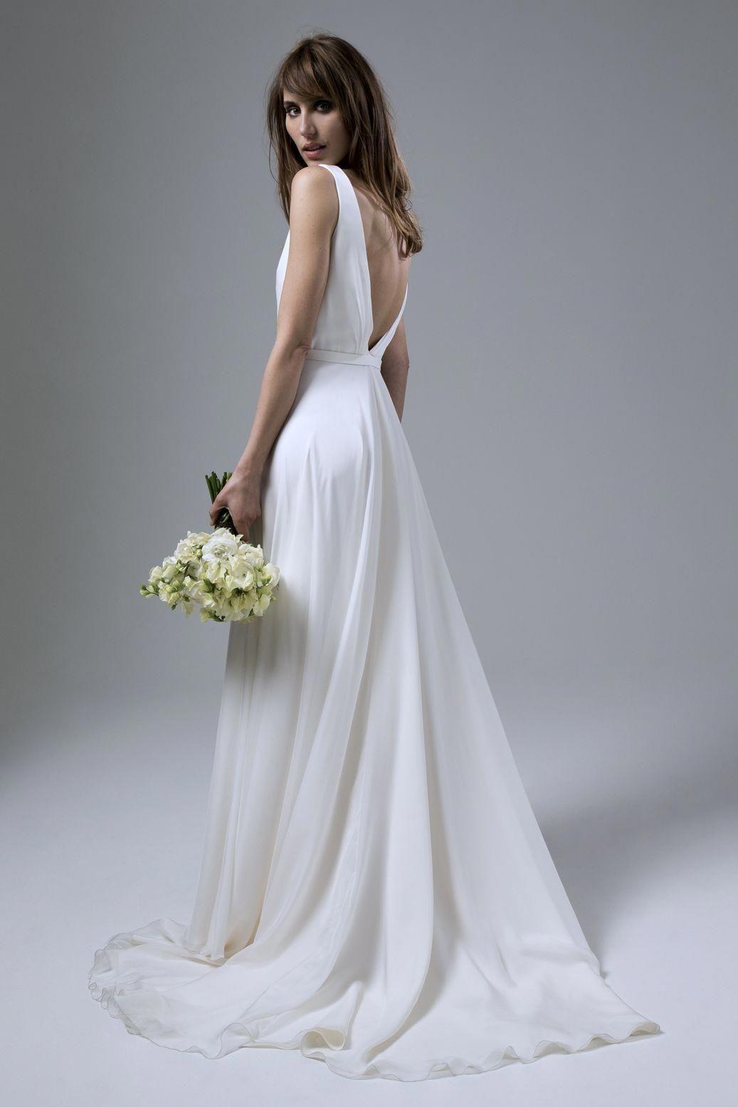 Wedding dress by Halfpenny London Bridal Fashion by Kate Halfpenny