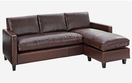 CHESTER Canapé d angle en cuir   Meubles pas Cher   Pinterest ... 3e5c4447952