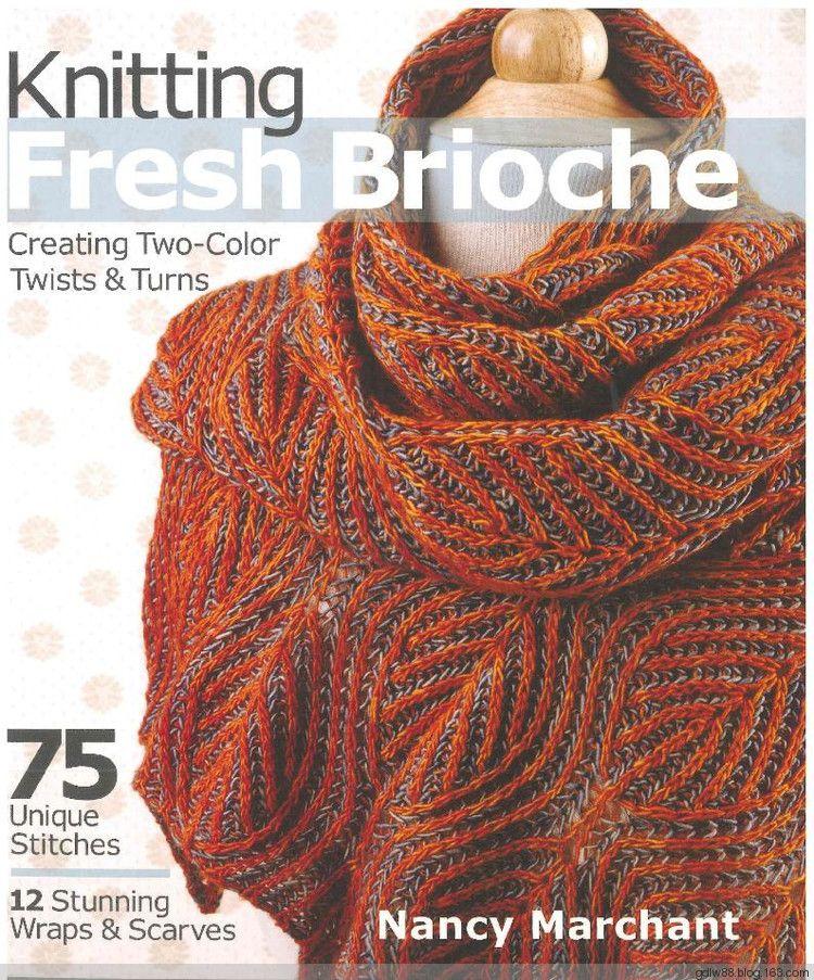 Knitting Fresh Brioche(1) - 木棉花 - 雨茫茫,雾茫茫,盼望花开,花已 ...