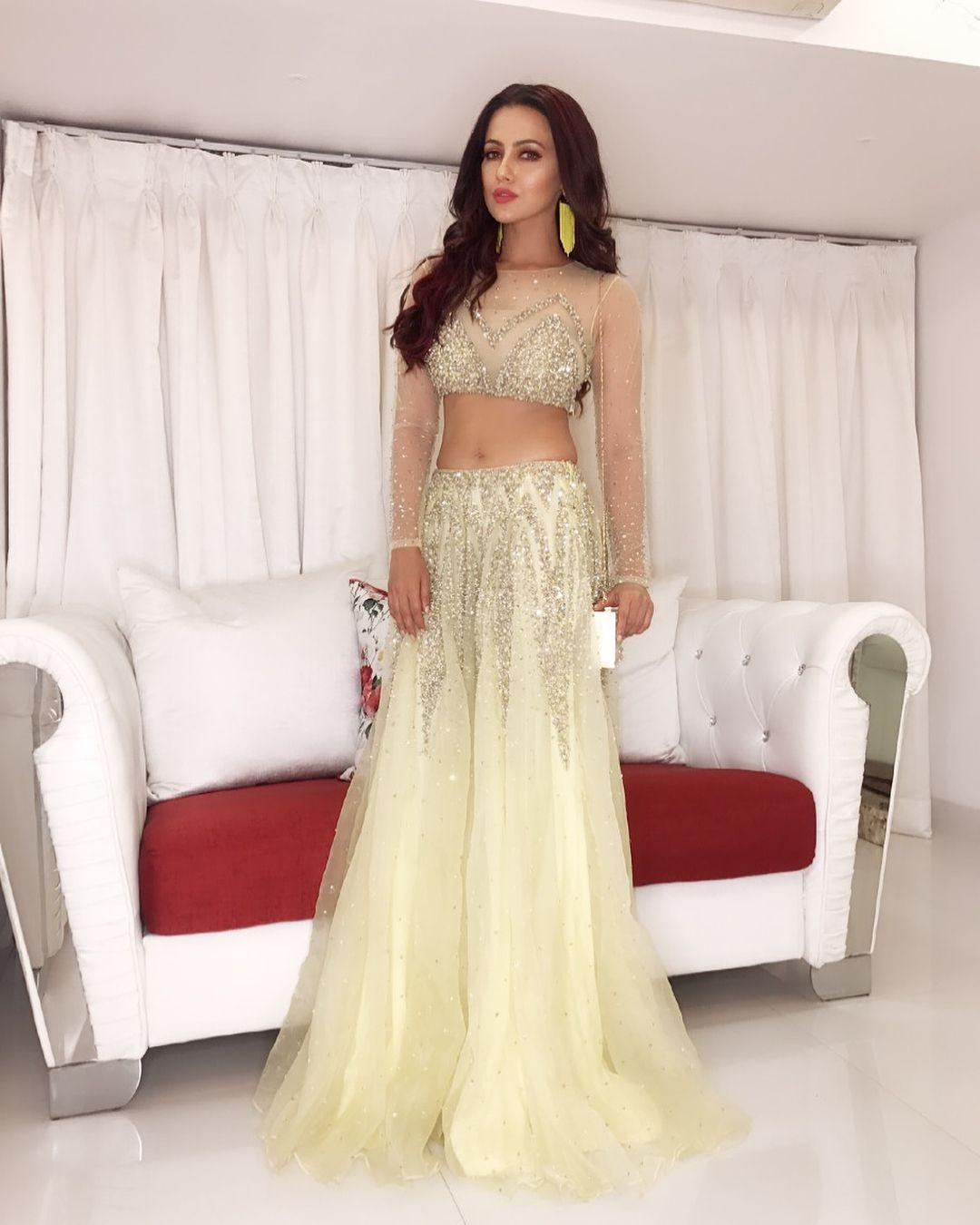 Sana Khan Indian designer wear, Indian bridal, Fashion