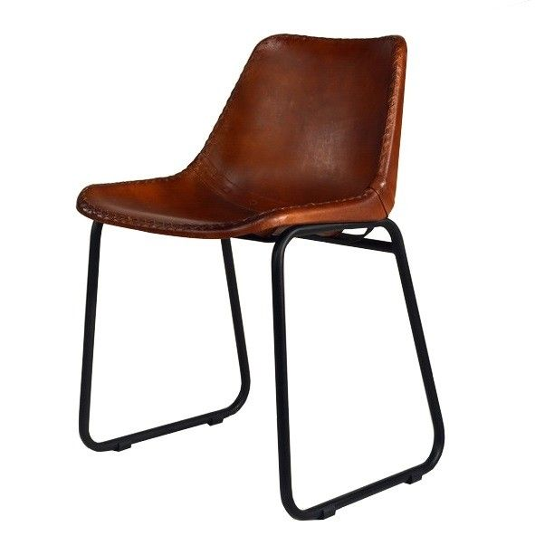 Design Stühle Klassiker industrial vintage leder design stuhl echter retro design