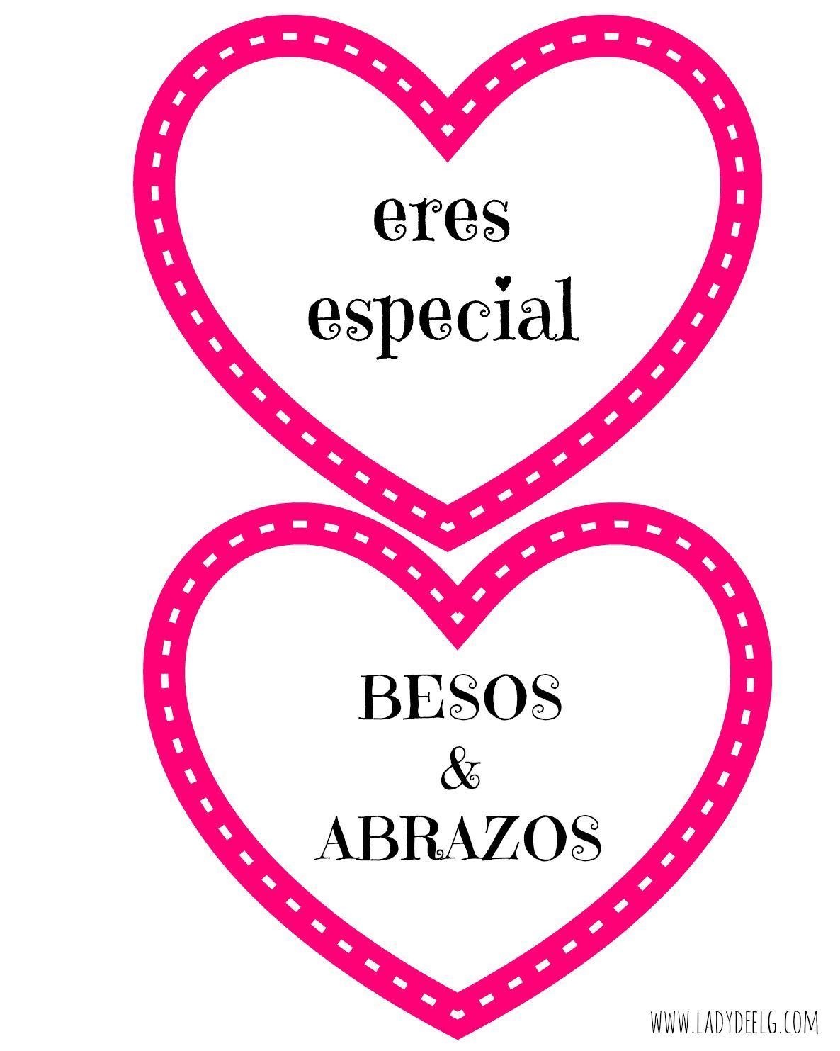 Free Valentine S Day Printables In Spanish