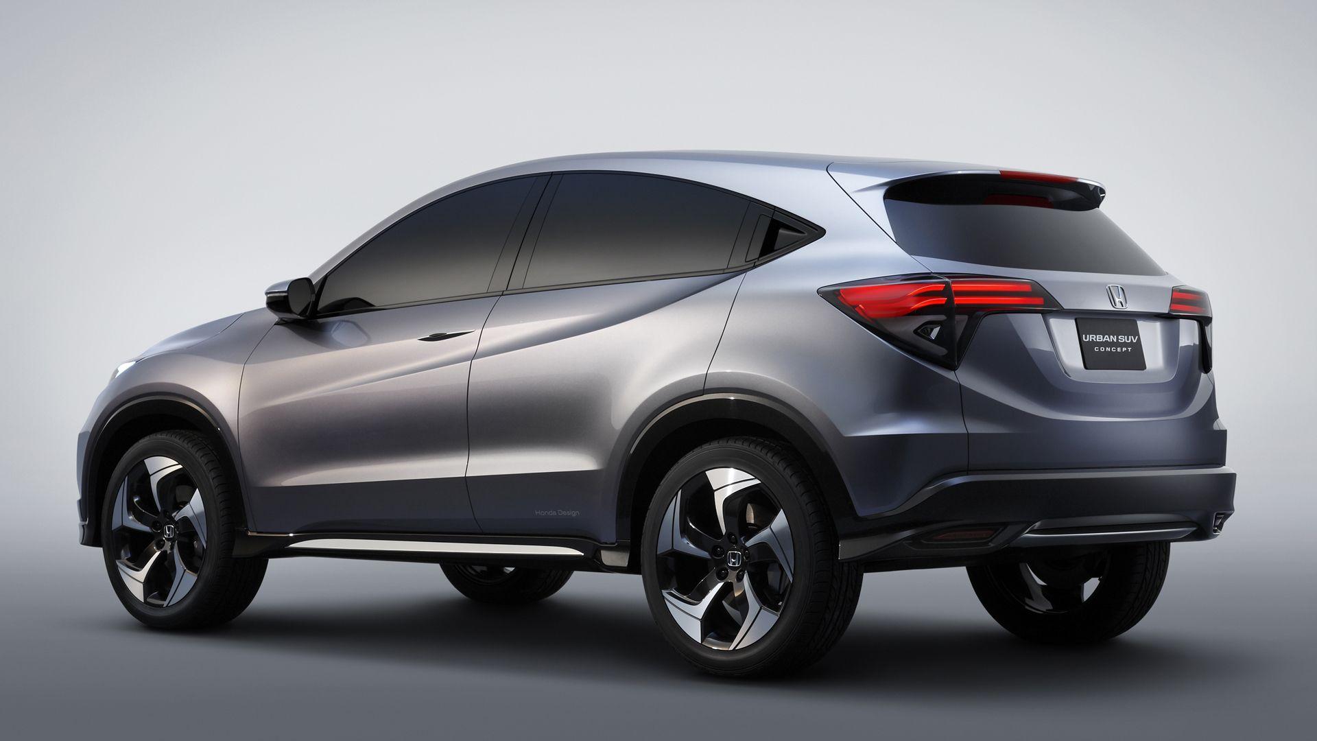 Honda shrinks, sculpts CRV for new concept Honda pilot