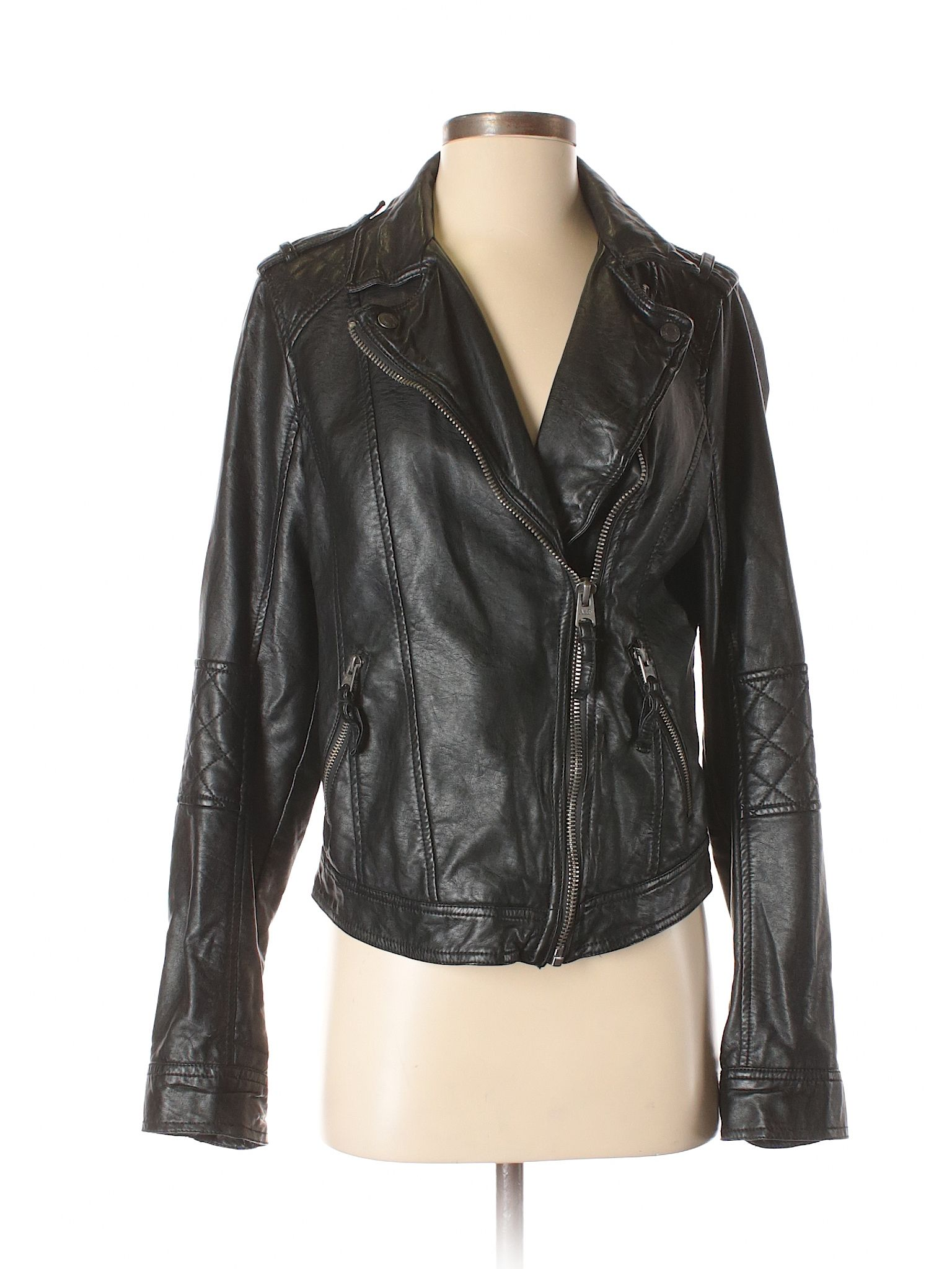 Faux Leather Jacket Leather Jacket Black Faux Leather Jacket Faux Leather Jackets