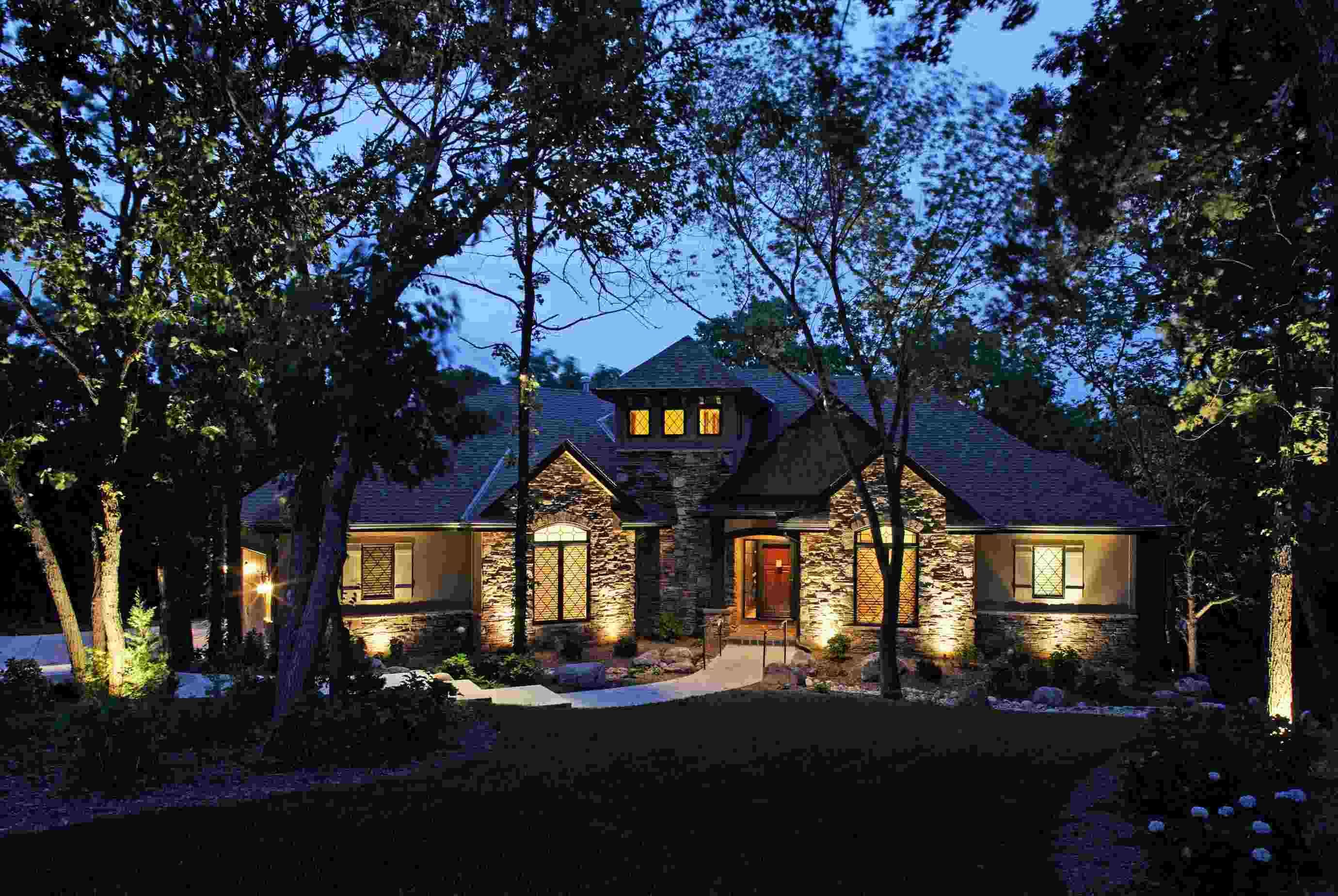 Landscape Lighting Enjoys The Limelight As One Of The Most Popular Upgrades Landscape Lighting Landscape Lighting Design Solar Landscape Lighting