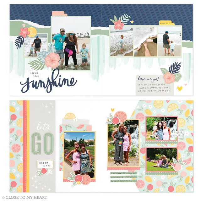 April 2020 Craft With Heart Scrabbooking Subscription ...