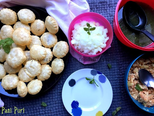My experiments with food pani puri with homemade puris recipe my experiments with food pani puri with homemade puris forumfinder Choice Image