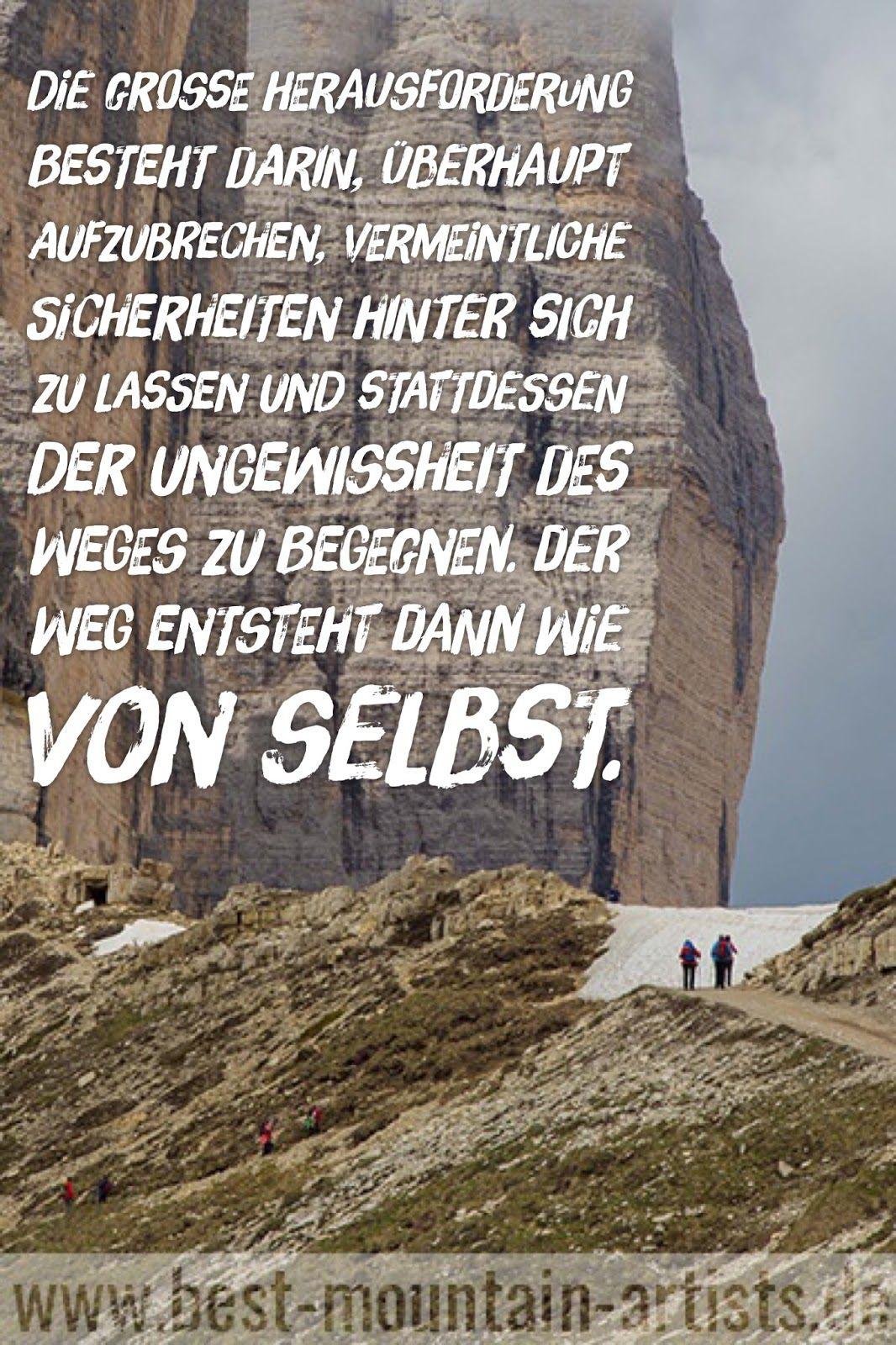 Die 100 Besten Wanderzitate Zitat Wand Zitate Reisen Und