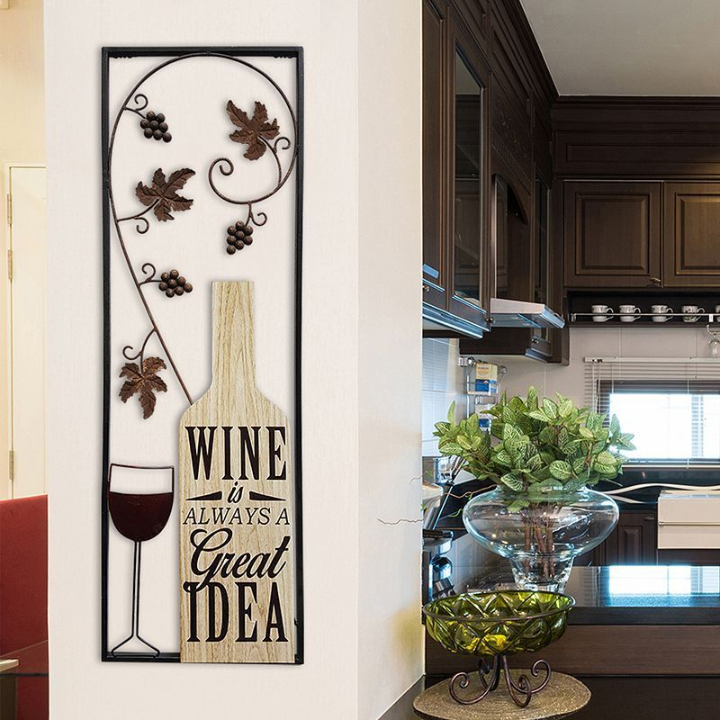 Stratton Home Decor Wine Is Always A Great Idea Wall Decor